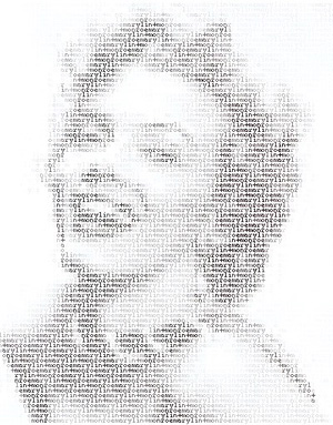 ascii-art-marylin