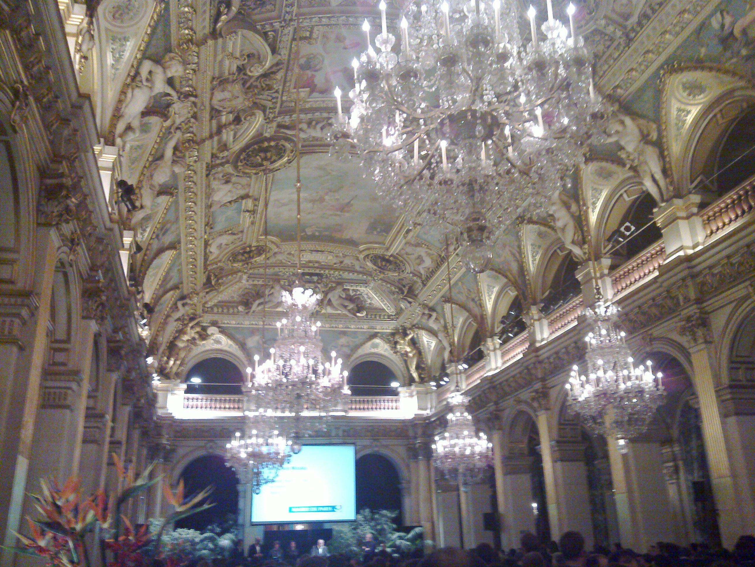 Le web 2010 la mairie de paris soir e mouvement e for Mairie menetou salon